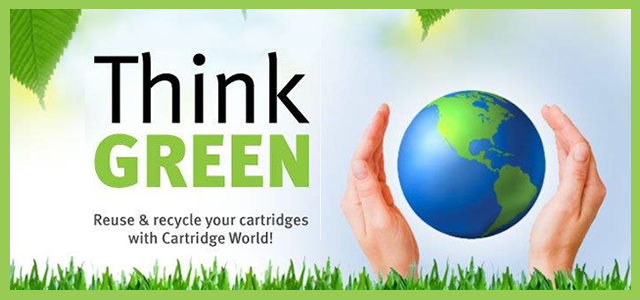 Recycle your Printer Cartridges