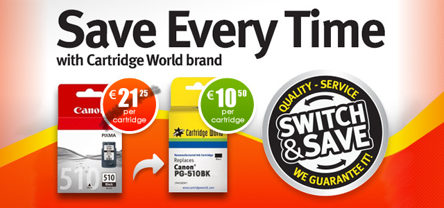 Save Every Time with Cartridge World